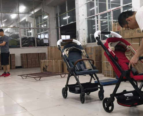 China Baby stroller factory